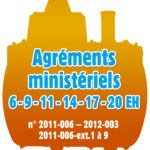 Agréments ministériels TRICEL NOVO